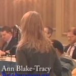 Ann Blake Tracy SSRI FDA Testimony 2-2-04