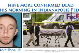 Another mass shooting with nine more confirmed dead this morning in Indianapolis where it all began with Eli Lilly & their introduction of the first ssri, prozac...